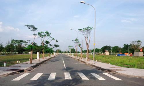 Giá đất trong khu đô thị Cát Lái tiếp tục tăng cao trước Tết. Ảnh: Dothi.net