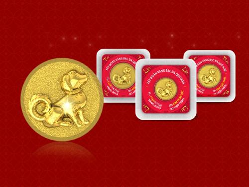 Lì xì bằng vàng được ưa chuộng dịp Tết