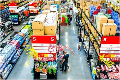 Nhiều mặt hàng được ưu đãi 50% tại MM Mega Market.