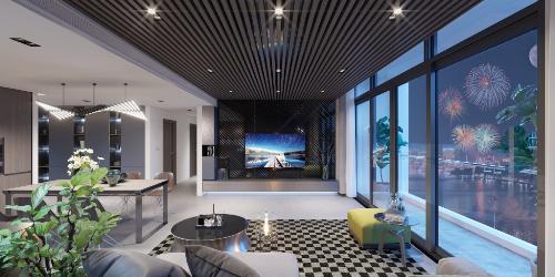 Tươi mới, nhiều điểm nhấn thú vị là nhận xét của các chủ nhân căn hộ Sun Grand City Thuy Khue Residence khi tham quan hệ thống nội thất của dự án. Tủ, bàn, ghế, kệ tới các chi tiết trang trí tiểu cảnh, dưới sàn hay mái vòm& đều bài trí theo phong cách hiện đại, đề cao không gian sống thư thái, sang trọng và tầm nhìn khoáng đạt.