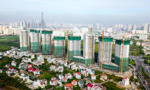 Một dự án quy mô 1.800 căn sắp được bàn giao cuốn chiếu trong năm 2018-2019. Ảnh: H.T