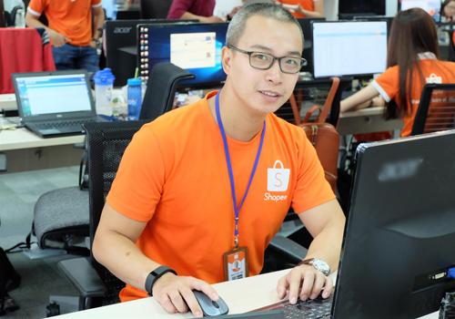 Ông Trần Tuấn Anh  Giám đốc điều hành Shopee Việt Nam.