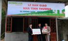 Xi măng Đồng Lâm tặng nhà cho người nghèo đón Tết