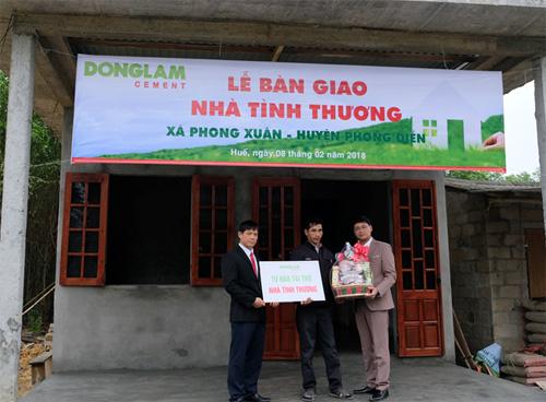 Ước mơ có một ngôi nhà kiên cố của anh Đặng Quang Hướng đã trở thành hiện thực.
