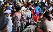 Chợ hải sản miền Tây nhộn nhịp ngày giáp Tết