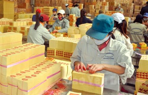 Bình quân mỗi thángLâm nông sản thực phẩm Yên Bái thu hơn 14 tỷ đồng từ vàng mã, giấy đế.