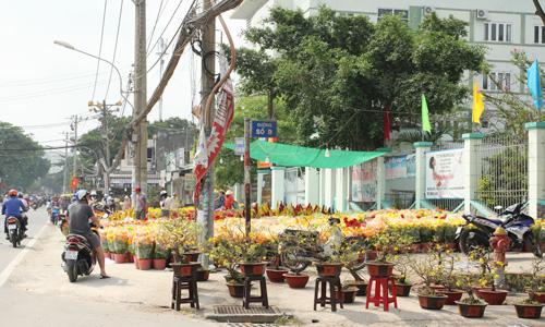 Chợ hoa Sài Gòn ế ẩm 30 Tết