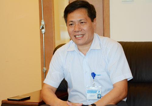 Ông Tô Dũng Thái - Tổng giám đốc Tổng công ty Dịch vụ Viễn thông.