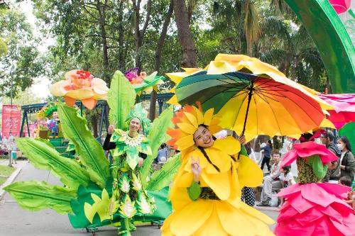 Loạt hoạt động vui xuân tại Công viên Văn hóa Đầm Sen - 1