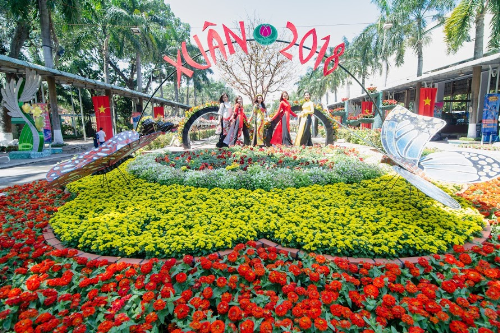 Loạt hoạt động vui xuân tại Công viên Văn hóa Đầm Sen - 3
