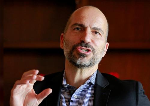 CEO Uber -Dara Khosrowshahi. Ảnh: Reuters.