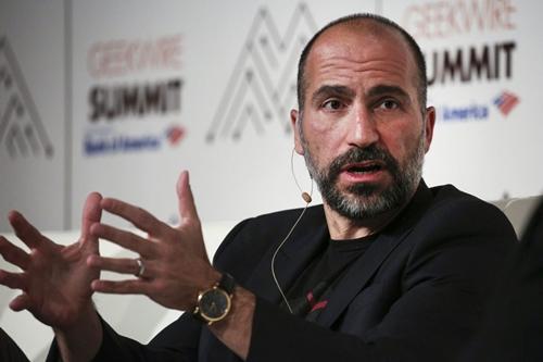 DaraKhosrowshahi là người nhập cư từ Iran. Ảnh: Tech Genez
