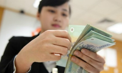 62% nhân viênngân hàng được thưởng trung bình từ 1-3 tháng lương mỗi năm.