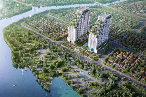 LuxGardengồm 2 tháp căn hộ cao 26 tầng với hơn 500 căn hộ. Dự án có thiết kế giật tầng ấn tượng.