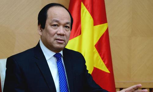Bộ trưởng Chủ nhiệm Văn phòng Chính phủ Mai Tiến Dũng cho biết, Thủ tướng nhắc nhở, phê bình Bộ Giao thông khi 2 lần gia hạn nhưng chưa hoàn thành nhiệm vụ Thủ tướng giao. Ảnh: VGP