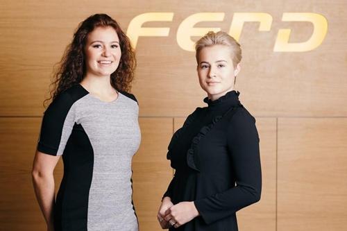 Hai chị emAlexandra (trái)và Katharina Andresen. Ảnh: Ferd