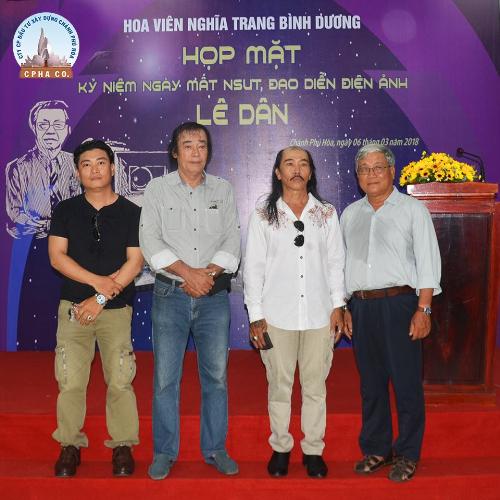 Những khách mời đã tham gia lễ tưởng niệm hai năm ngày mất của cố đạo diễn.