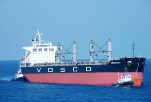 Thu nhập đột biến ngoài hoạt động kinh doanh chính giúp Vosco chấm dứt tình trạng thua lỗ ba năm liên tiếp.