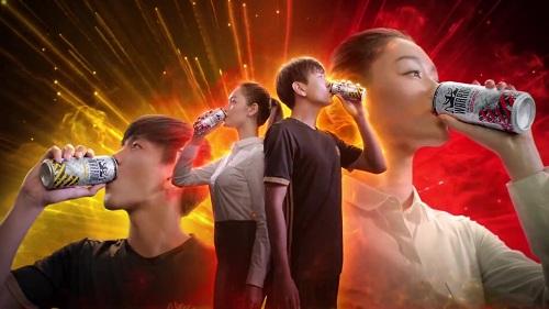 Nước uống tăng lực Warrior hướng tới khách hàng trẻ.