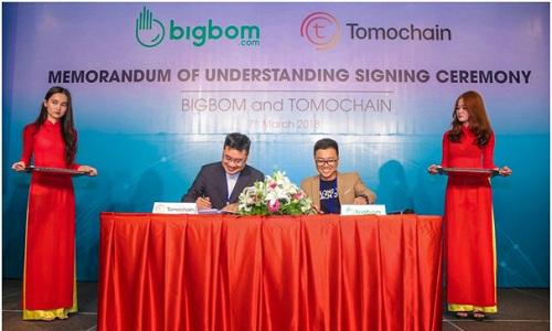 Bigbom ký biên bản hợp tác với Tomochain
