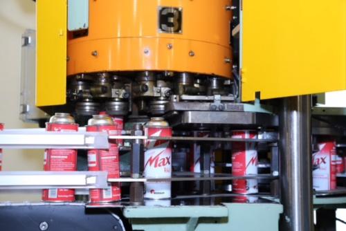 Dây chuyền sản xuất lon gas KMB.