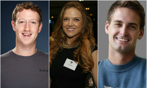Những người giàu nhất thế giới dưới 40 tuổi