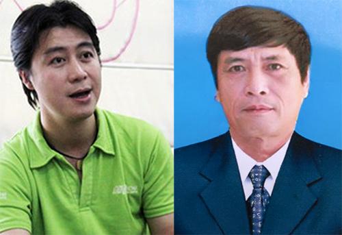Phan Sào Nam (trái) và cựu cục trưởng C50 Nguyễn Thanh Hóa - hai mắt xích quan trọng của vụ án đường dây đánh bạc nghìn tỷ.