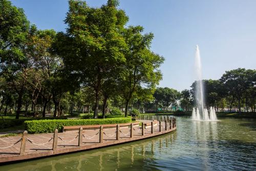 Celadon City - đô thị xanh điều hòa không khí.