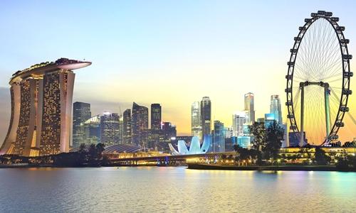 Singapore đã 5 năm liên tiếp đứng đầu bảng xếp hạng của EIU. Ảnh: AFP