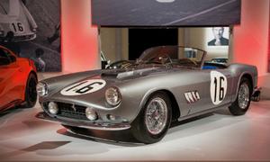 Kho siêu xe cổ triệu đô ở trụ sở đại gia đấu giá Sotheby's
