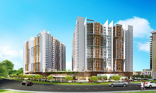 Lượng giao dịch căn hộ cao cấp tại khu trung tâm cũng trở nên nhộn nhịp, trong đó có các giao dịch tại khu căn hộ 5 sao Topaz Twins.
