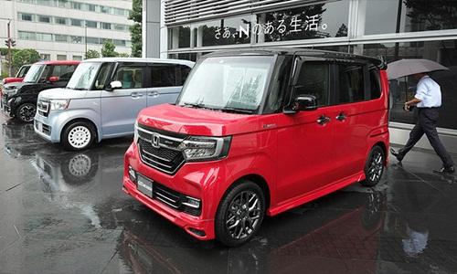 Loại xe nhỏ kei car rất được ưa chuộng tại Nhật. Ảnh: AFP