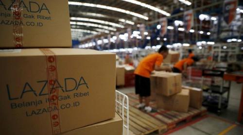 Alibaba đã đổ 4 tỷ USD vào Lazada. Ảnh: Dealstreet.