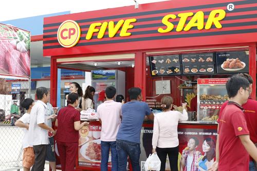 C.P. Việt Nam đặt chỉ tiêu sở hữu 2.000 cửa hàngFive Star trong 3 năm tới.