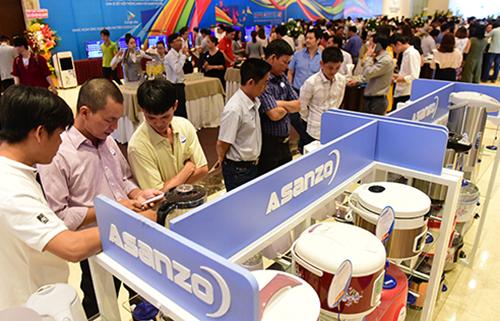 Bên cạnh các dòng sản phẩm chủ lực như tivi, smartphone, việc đẩy mạnh kinh doanh sản phẩm điện gia dụng cũng góp phần quan trọng vào tăng trưởng doanh thu của Asanzo.