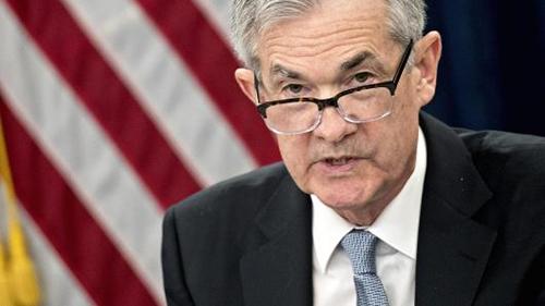 Tân Chủ tịch Fed - Jerome Jay Powell trong phiên họp hôm qua. Ảnh: AFP