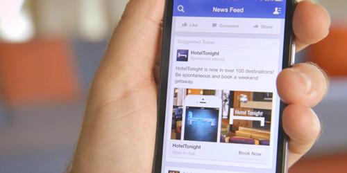 98% doanh thu của Facebook đến từ quảng cáo. Ảnh: The Drum