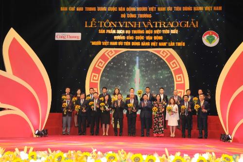 PV GAS nhận giải Top 10 doanh nghiệp có dịch vụ thương hiệu Việt xuất sắc