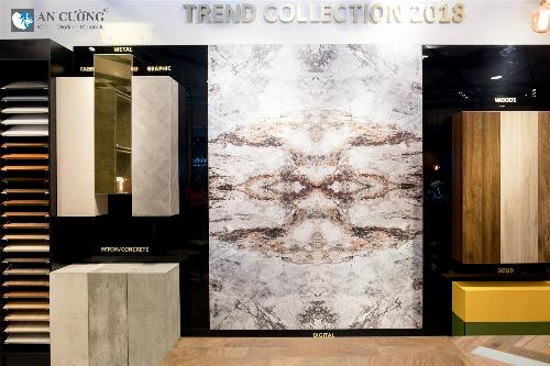 Với Trend Collection 2018, Gỗ An Cường mong muốn tạo ra một xu hướng sắc màu mới.