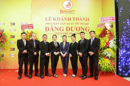 Mỹ phẩm Đăng Dương tổ chức tiệc khánh thành nhà máy hoành tráng