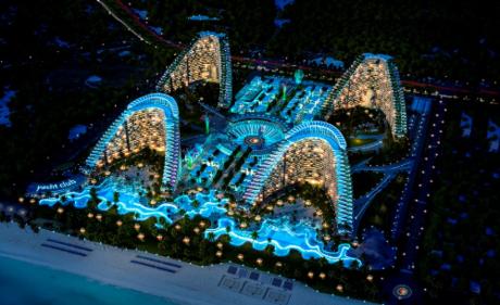 Dự án The Arena nằm dọc Bãi Dài, Cam Ranh hứa hẹn là điểm đến ưa thích của du khách trong tương lai.
