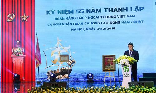 Thống đốc Lê Minh Hưng giao nhiệm cho Vietcombank.