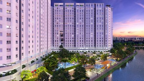 Khu căn hộ Marina Tower thiết kế theo kiến trúc mở nhằm hạn chế nguy cơ cháy nổ.