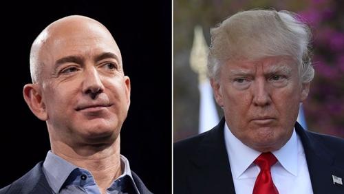 Ông chủ Amazon mất 15 tỷ USD vì những công kích của Trump