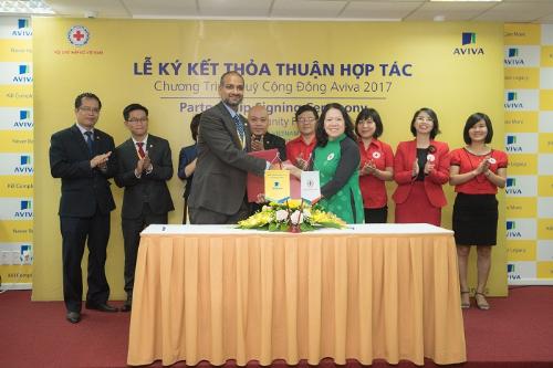 Bên cạnh mục tiêu kinh doanh, Aviva Việt Nam cũng rất chú trọng đến các công tác thể hiện trách nhiệm đối với xã hội.