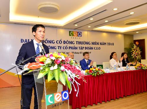 Ông Đoàn Văn Bình - Chủ tịch HĐQT Tập đoàn CEO.