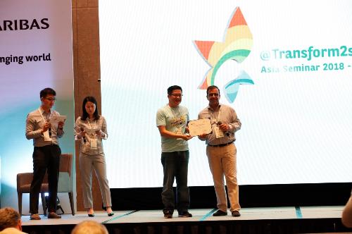 Tập đoàn BNP Paribas Cardif trao giải nhất cho VCLI về sáng kiến sản phẩm mới Bảo an toàn gia.
