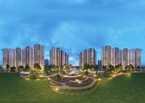 Toàn cảnh toàn dự án khu đô thị Celadon City, một trong top 20 không gian sống chuẩn mực tại Việt Nam.