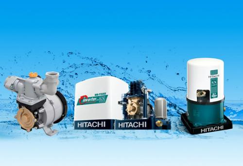 Những dòng máy bơm tiêu biểu của thương hiệu Hitachi.