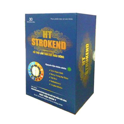 Thực phẩm bảo vệ sức khỏe HT Strokend giúp hỗ trợ điều trị tai biến mạch máu não.